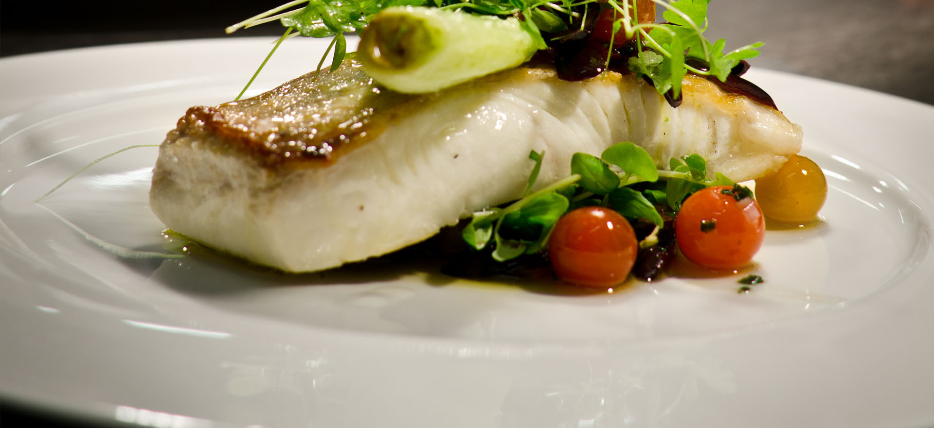 Fish Dish at Marco Pierre White Courtyard Bar and Grill, Donnybrook Dublin Ireland
