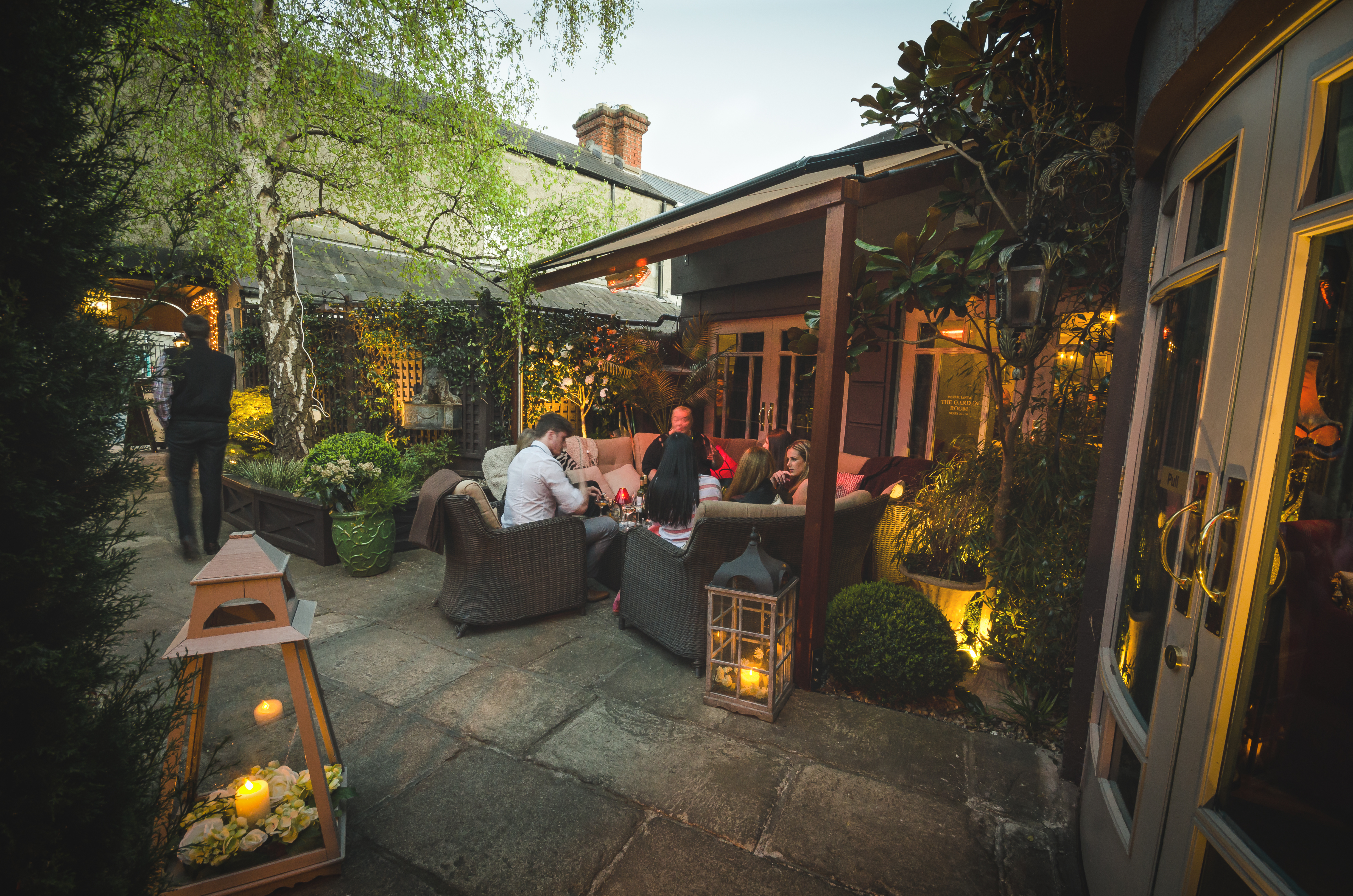 Marco Pierre White Courtyard Bar and Grill, Donnybrook Dublin Ireland